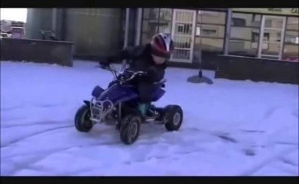 Детский квадроцикл на