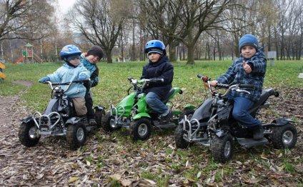 Детский квадроцикл: бензиновый